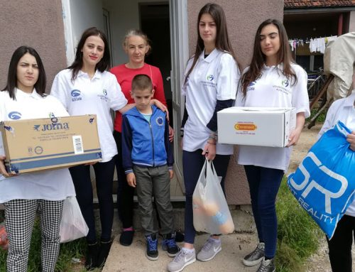 """Volonteri """"Alfa centra"""" uručili humanitarnu pomoć"""