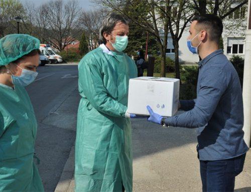 ALFA Centar i ASB donirali  Opštoj bolnici u Nikšiću EKG aparat i 100 posteljina i jastuka